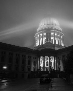 madison wisconsin madisoncapital iphoneography fog
