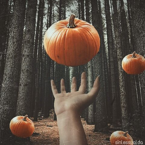Halloween levitation photography