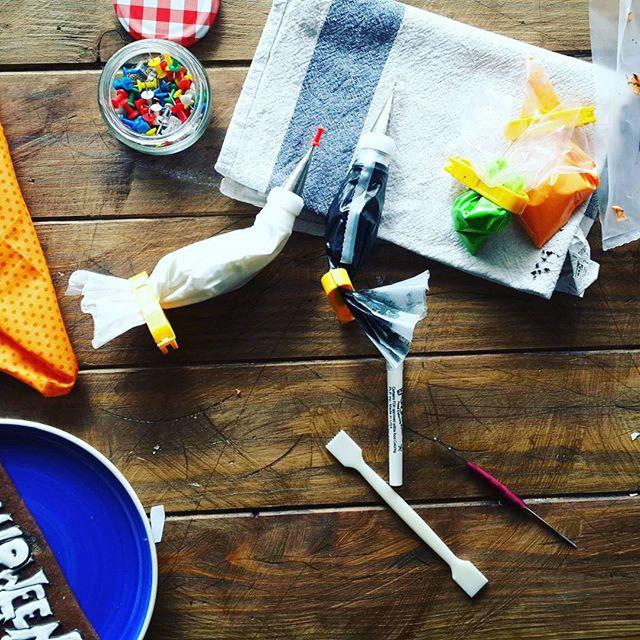 My #table #job #cakepuntcom #sweet  #food #photography