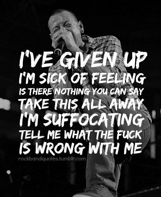 Linkinpark Lp Quotes Dark Darkness Sad Broken Alone Pai