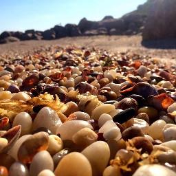 rockybeach beach sunlight beauty nature