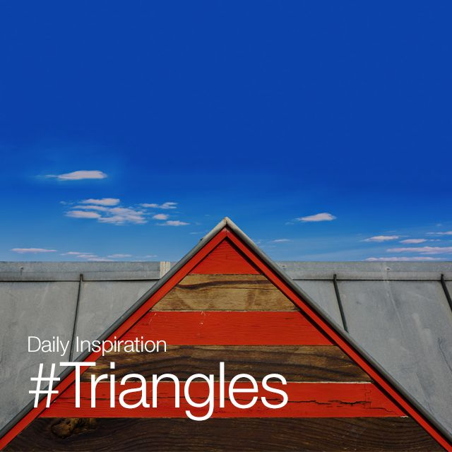 popular hashtags #triangle