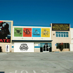 starwars colorful freetoedit photography popart