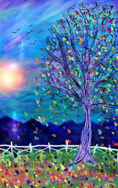 wdpautumn drawing art contest autumn