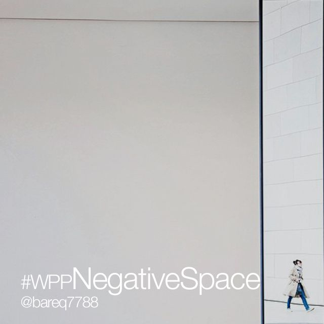 negative space photo project