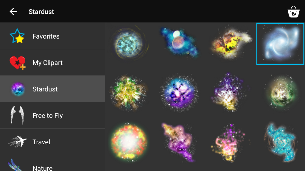 stardust clipart images