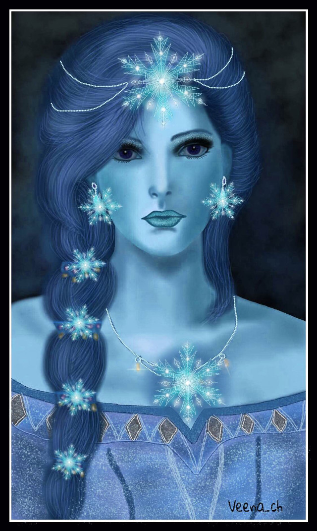 #wdpsnowflake   #drawing #mydrawing #art #digitart #digitaldrawing #snowflakes #girl