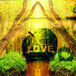 nature emotions love peace