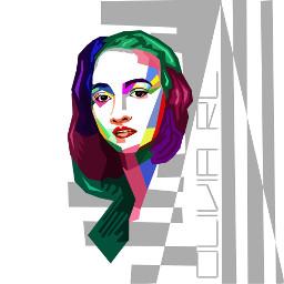 wpap colorful myself art keren