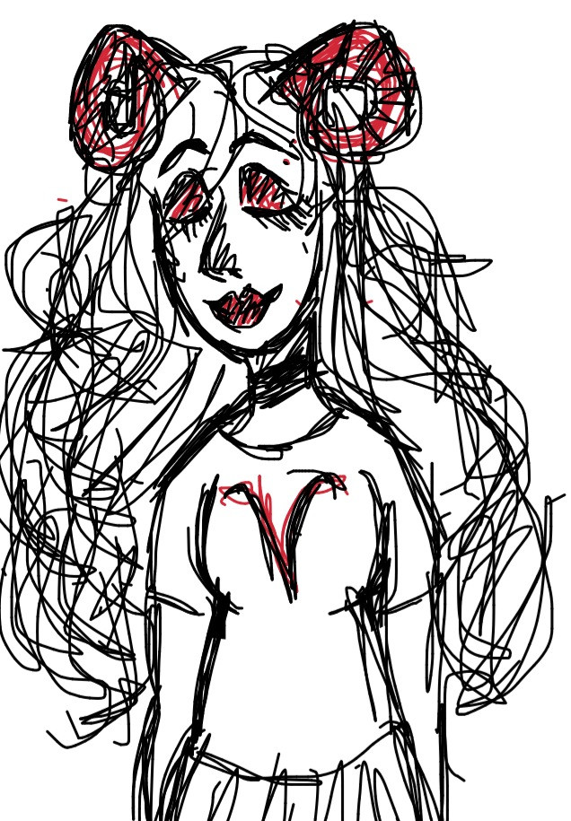 Okay my phone is dying so that's the end of my doodle spam
