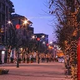 korca_city albania christmas_time winter love