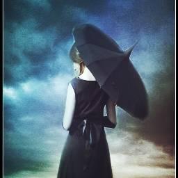 shazahom1 shadowselfie sky cloud umbrella