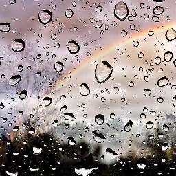 wapmakeitrain rainbow raindrops viewfrommywindow edited ecmytravel freetoedit