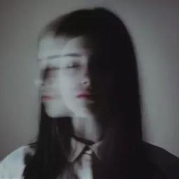 girl wanderer alone sad dark