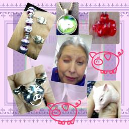 dialysis dialysisjewelry jewelry pig rings
